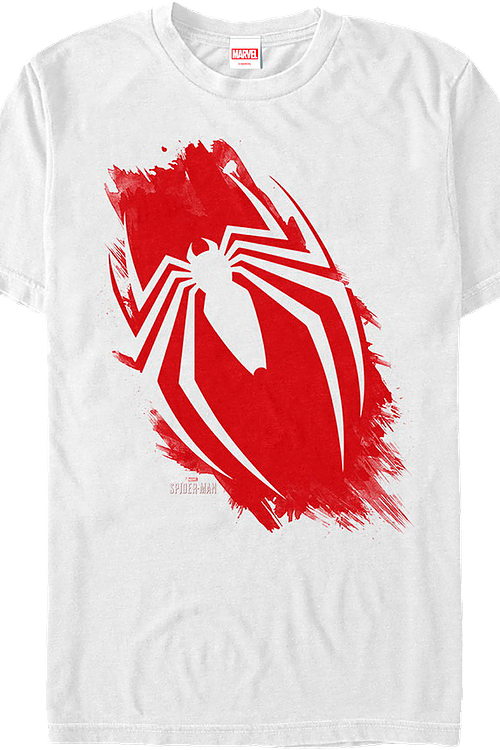 Brush Stroke Spider-Man T-Shirt