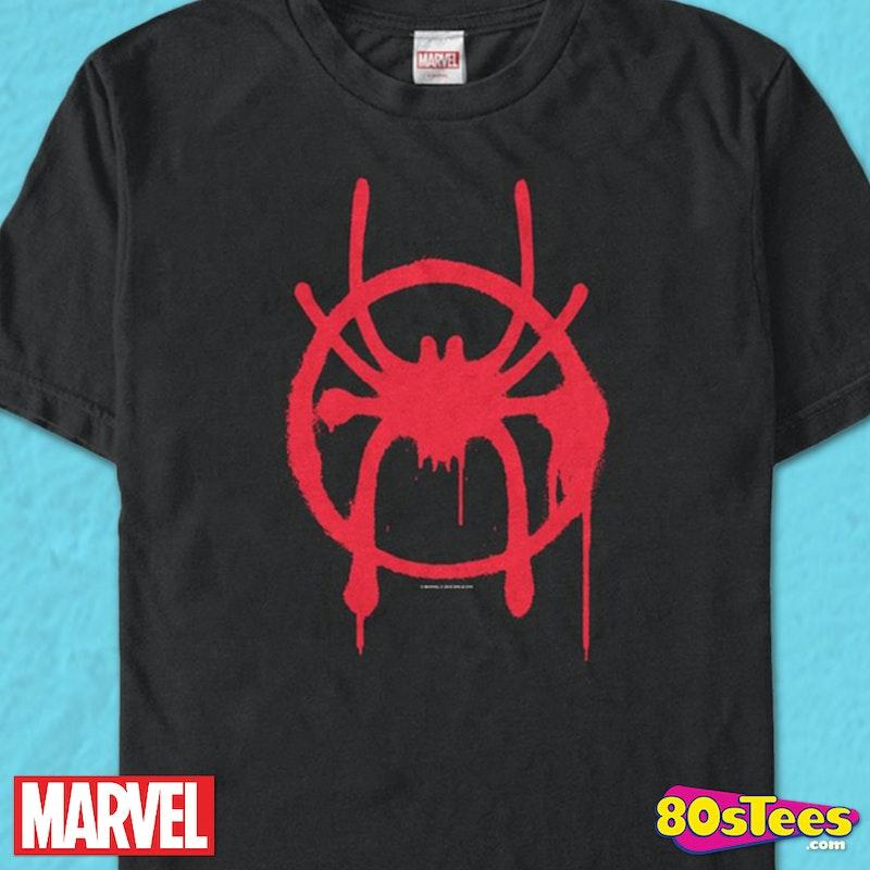 9b49c21173df1 Miles Symbol Spider-Man Into The Spider-Verse T-Shirt
