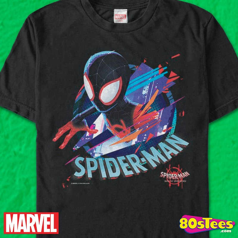 0fbb78fbe52 Miles Morales Spider-Man Into The Spider-Verse T-Shirt