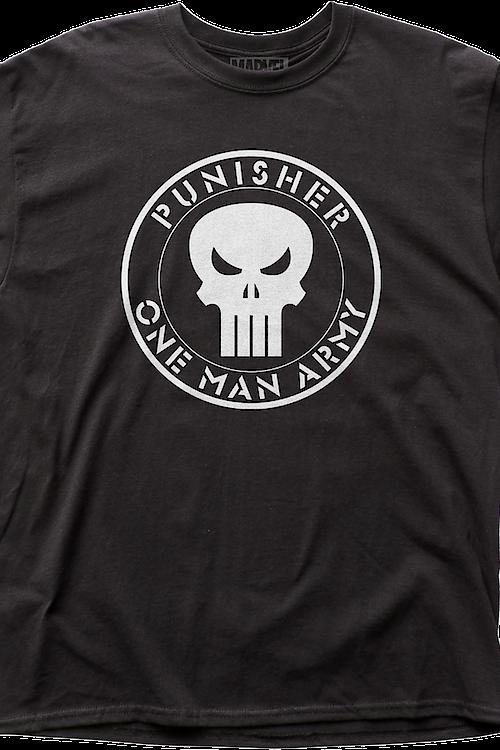 651fa37e3fd28 One Man Army Punisher T-Shirt