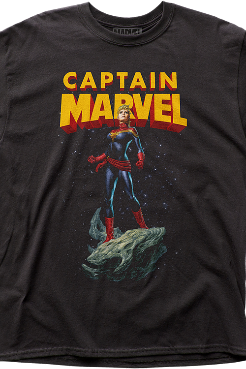 34b6c911 Retro Captain Marvel T-Shirt Marvel Comics