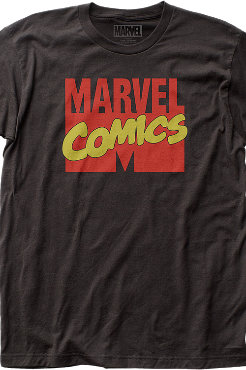 Retro Logo Marvel Comics T-Shirt