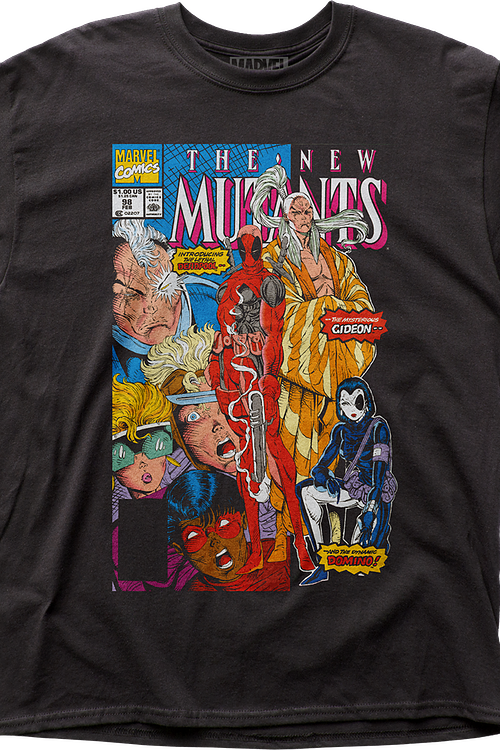 New Mutants The Beginning of the End Marvel Comics T-Shirt