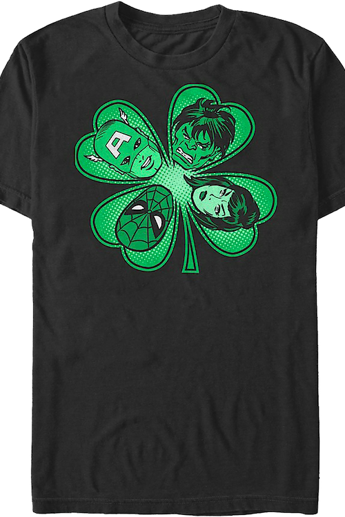 Four Leaf Clover Marvel Comics T-Shirt