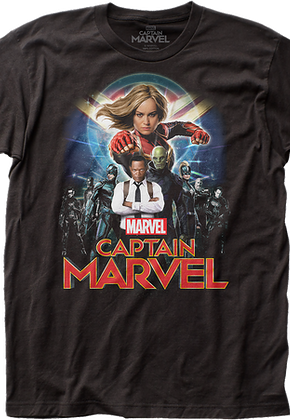 c723410a8155 Captain Marvel T-Shirts-Officially Licensed Marvel Comics T-Shirts!