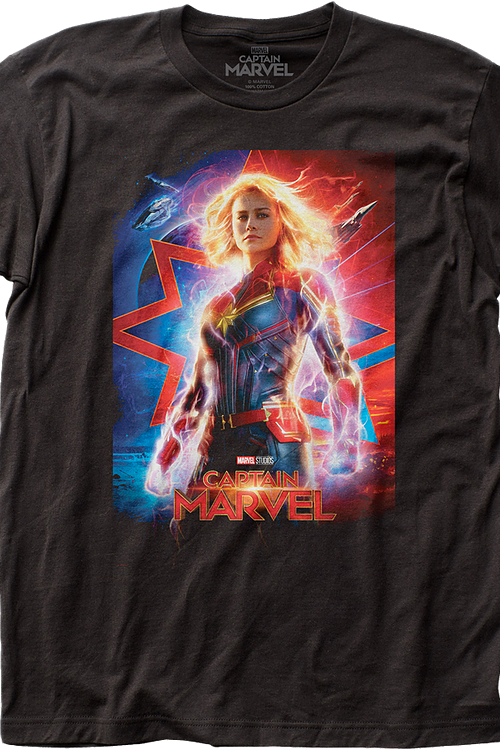 Movie Poster Captain Marvel T-Shirt