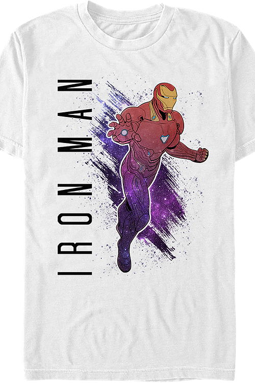 Iron Man Painting Avengers Endgame T-Shirt