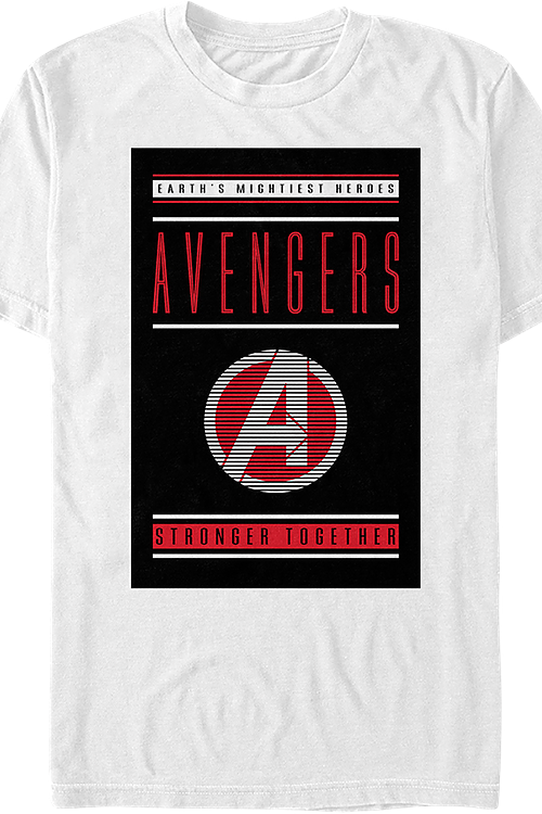Earth's Mightiest Heroes Avengers Endgame T-Shirt