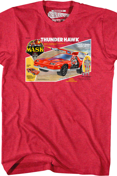 Box Art Thunderhawk MASK T-Shirt