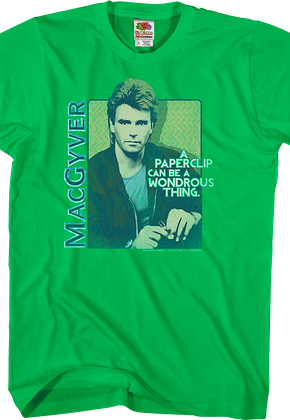 MacGyver Paperclip T-Shirt