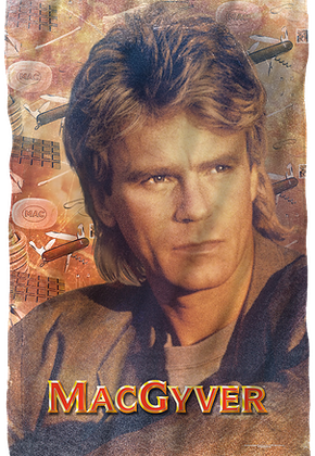 MacGyver Fleece Blanket