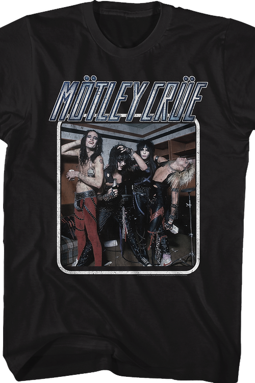 Group Photo Motley Crue T-Shirt