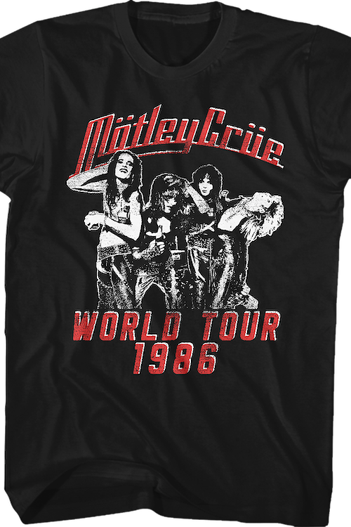 Theatre of Pain World Tour Motley Crue T-Shirt