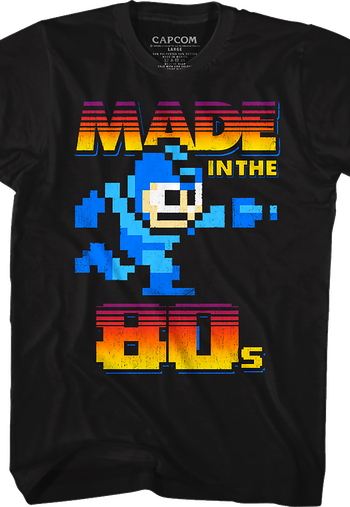 Made in the 80s Mega Man T-Shirt
