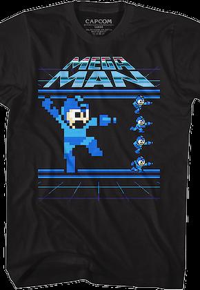 5e0f589e580 Mega Man Shirts and Megaman Clothing - 80sTees