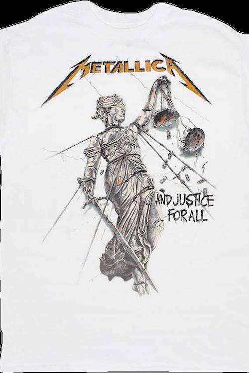 3fc38e881 And Justice For All Metallica T-Shirt: Metallica Mens T-shirt