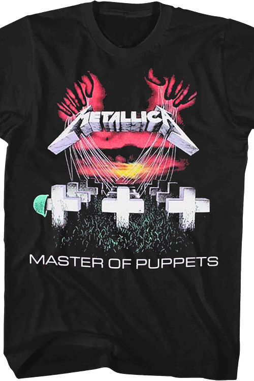 Vintage Master of Puppets Metallica T-Shirt