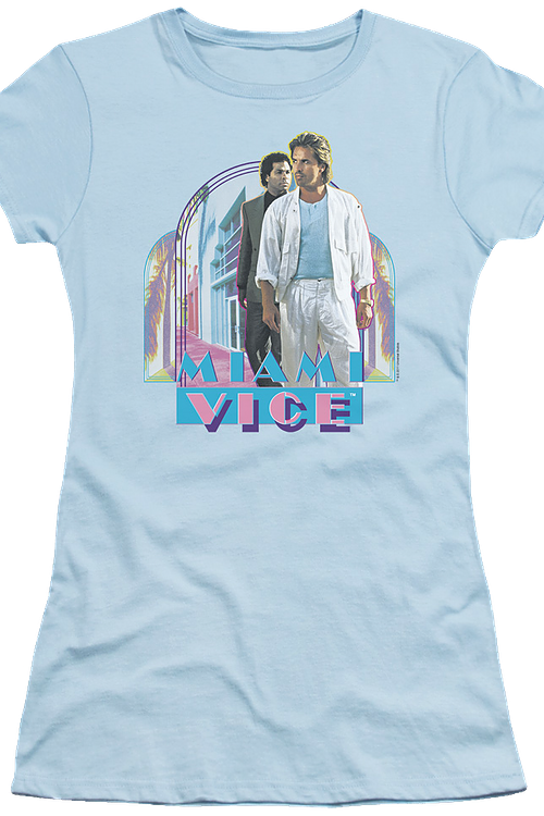 Junior Crockett and Tubbs Miami Vice Shirt