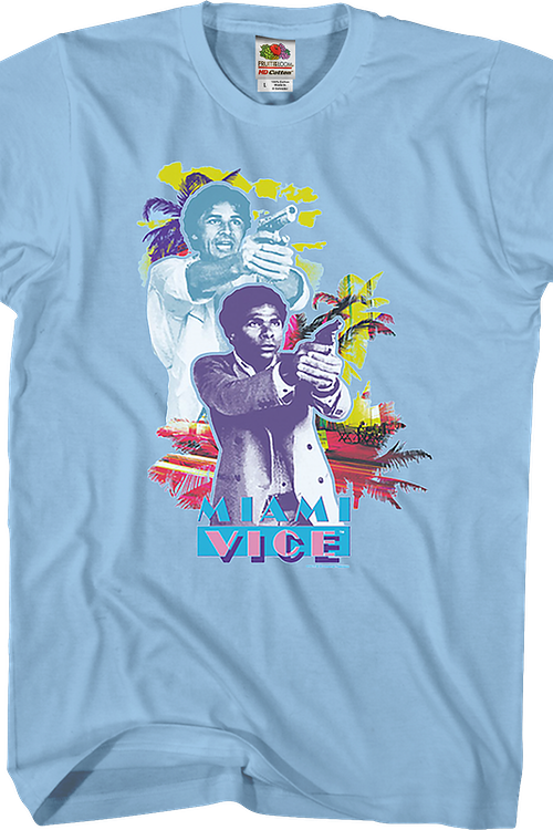 Guns Drawn Miami Vice T-Shirt