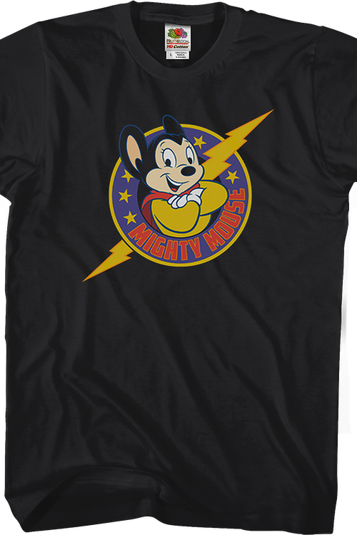 Lightning Bolt Mighty Mouse T-Shirt