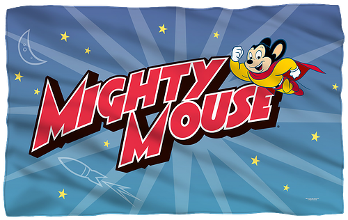 Mighty Mouse Fleece Blanket