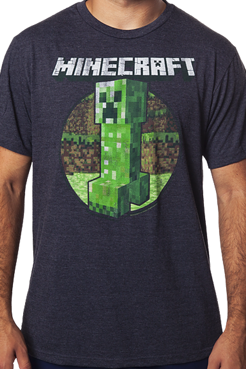 Minecraft Chasing Creeper T-Shirt