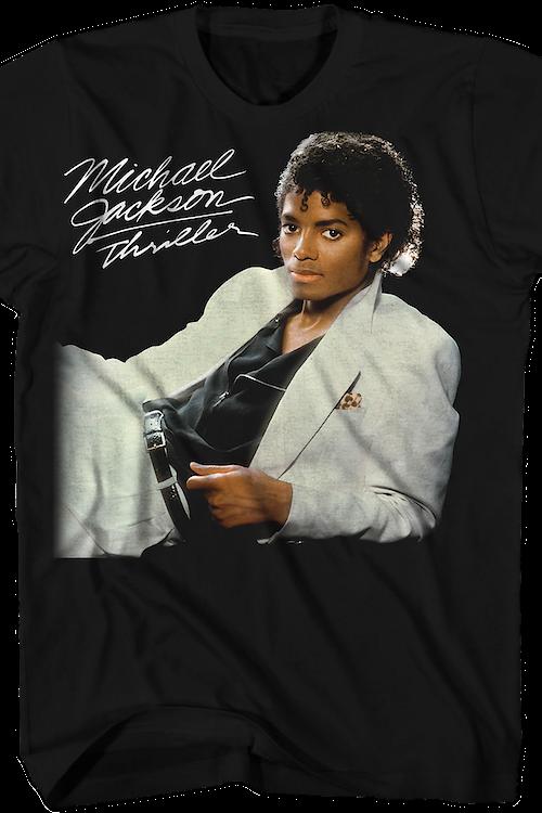 b3803bc34de Thriller Cover Michael Jackson T-Shirt  Michael Jackson Mens T-Shirt