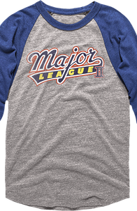 Major League Raglan Sleeve Baseball Shirt