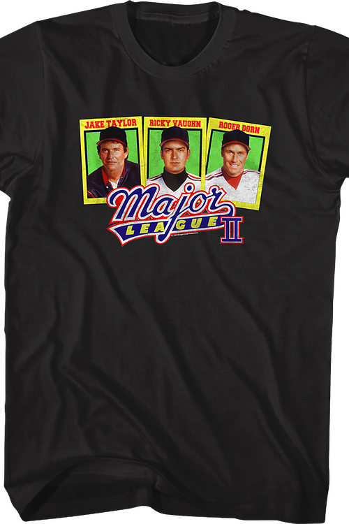 Baseball Cards Major League T-Shirt
