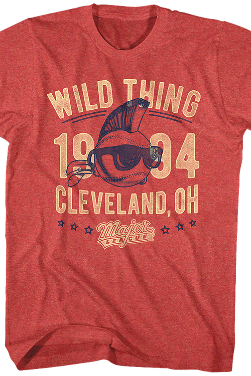 Wild Thing Major League T-Shirt