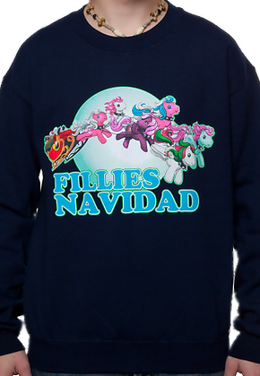 My Little Pony Faux Ugly Christmas Sweater