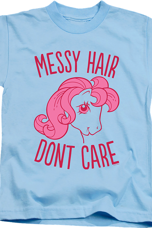 Youth Messy Hair My Little Pony Shirt