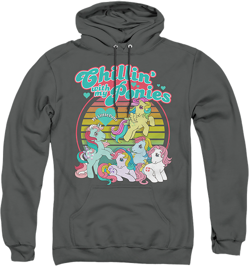 Chillin' With My Ponies My Little Pony Hoodie