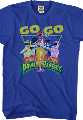 Power Ranger Costumes And Shirts 80stees