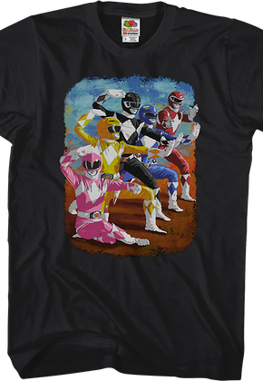 2bf133edc0f Painting Mighty Morphin Power Rangers T-Shirt