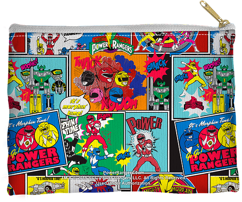 Mighty Morphin Power Rangers Accessory Pouch