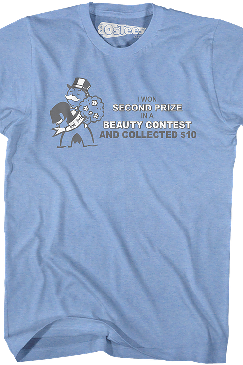Second Prize Monopoly T-Shirt