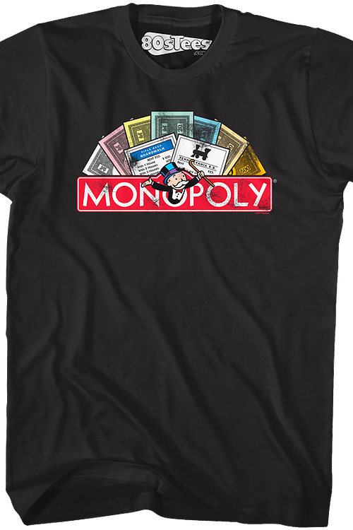 44fb0efa Money Monopoly T-Shirt: Monopoly Mens T-shirt