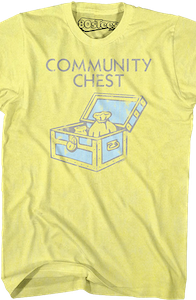 Community Chest Monopoly T-Shirt