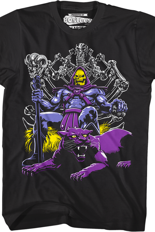 Panthor And Skeletor Shirt
