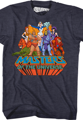 Masters of the Universe Group T-Shirt