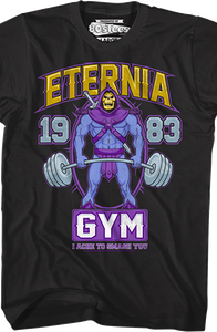 MOTU Eternia Gym Skeletor T-Shirt