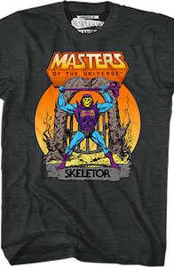 Battle Armor Skeletor T-Shirt