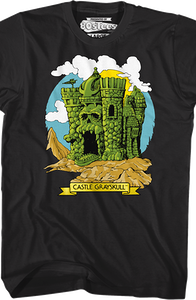 Castle Grayskull Masters of the Universe T-Shirt