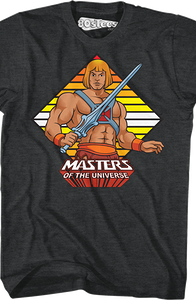 He-Man Masters of the Universe T-Shirt