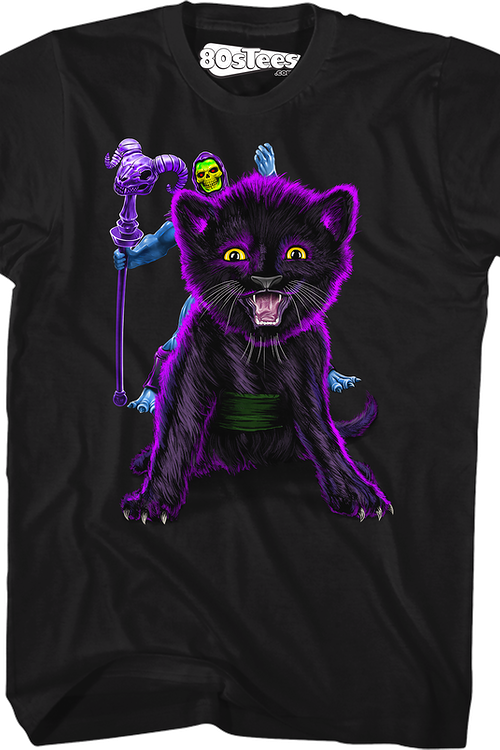 Skeletor and Panthor Masters of the Universe T-Shirt