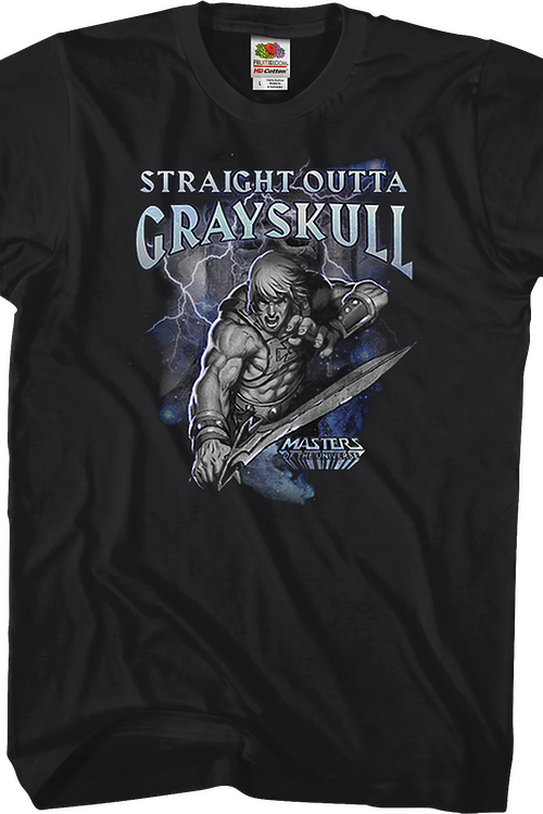 Straight Outta Grayskull Masters of the Universe T-Shirt
