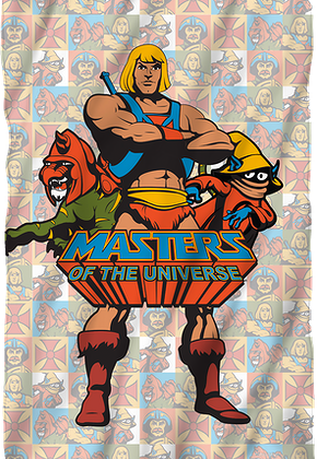 Masters of the Universe Fleece Blanket