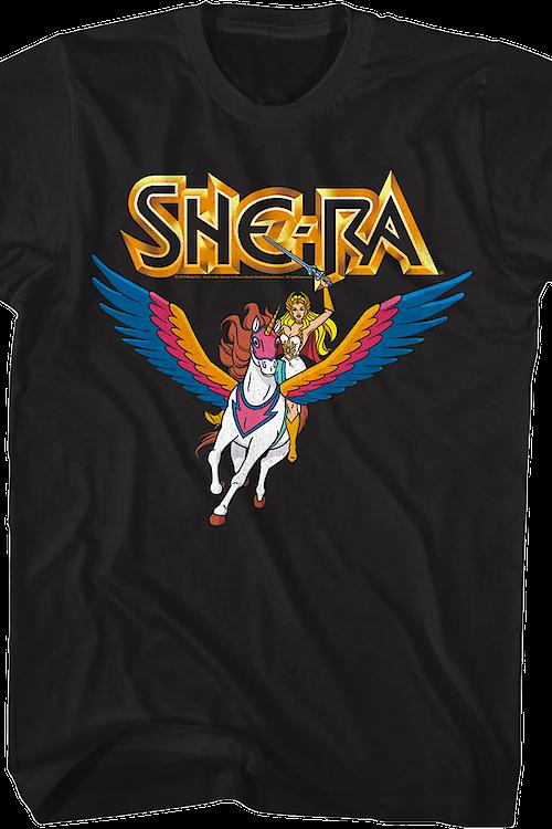 815f51a8c6e Princess of Power She-Ra T-Shirt  She-Ra Mens T-Shirt