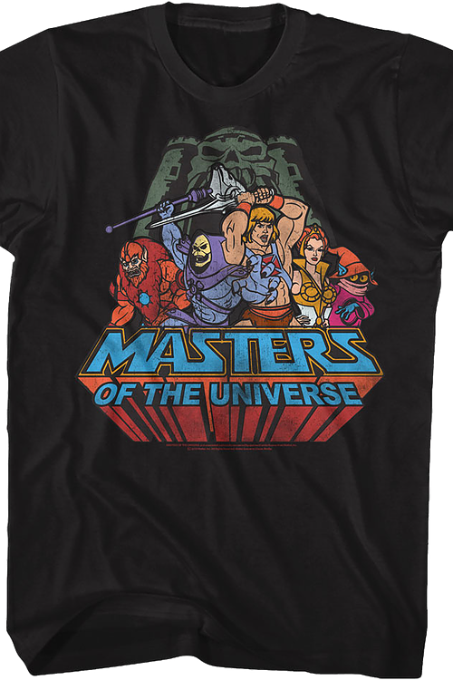 Battle For Grayskull Masters of the Universe T-Shirt